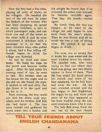 December 1972 English Chandamama magazine page 46
