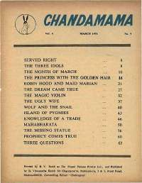 March 1974 English Chandamama magazine page 5