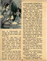 October 1975 English Chandamama magazine page 54