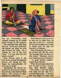 October 1975 English Chandamama magazine page 16