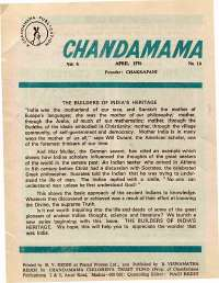 April 1976 English Chandamama magazine page 5