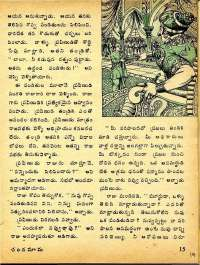 February 1975 Telugu Chandamama magazine page 19