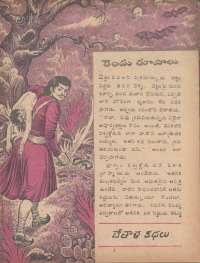 August 1977 Telugu Chandamama magazine page 19